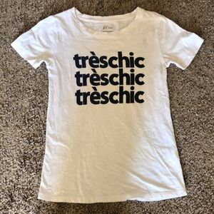 J Crew très chic short sleeve t-shirt